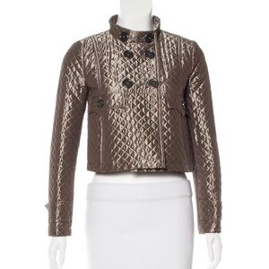 Burberry London Cropped Quilted jacket